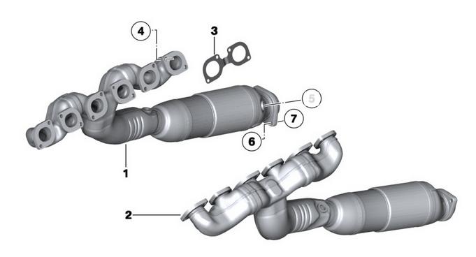 Rolls Roice katalizátor