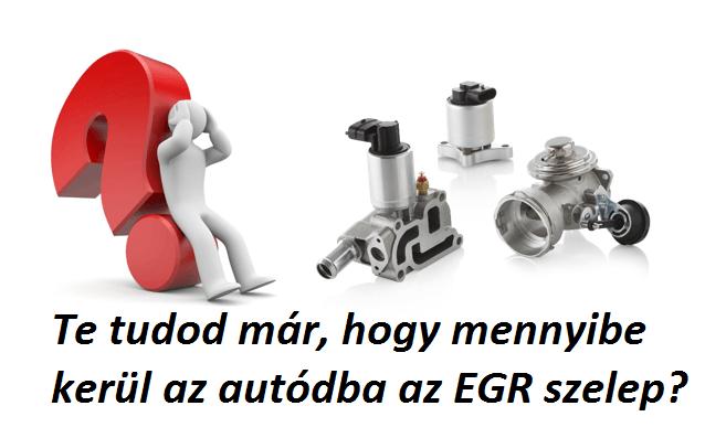 EGR szelep ár