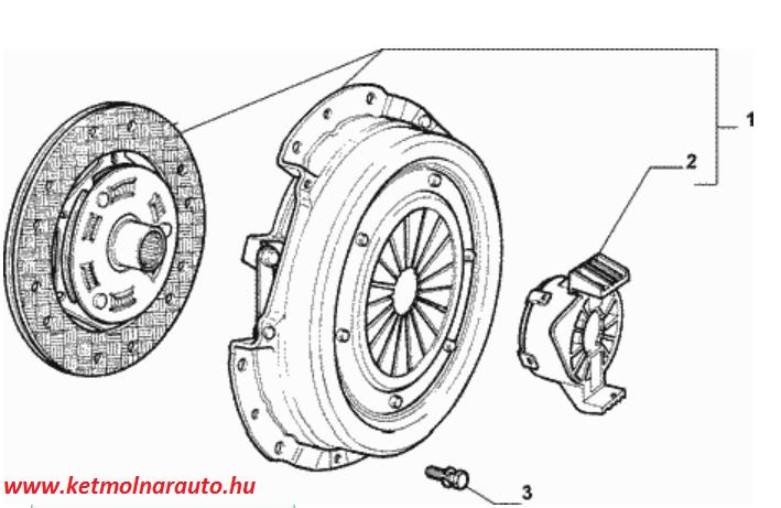 Kuplungszett Fiat Punto