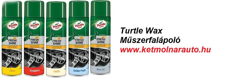 Turtle Wax műszerfalápoló